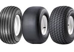 Smooth Tread Tires